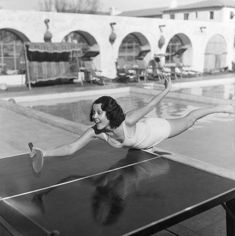 raquel torres playing ping pong