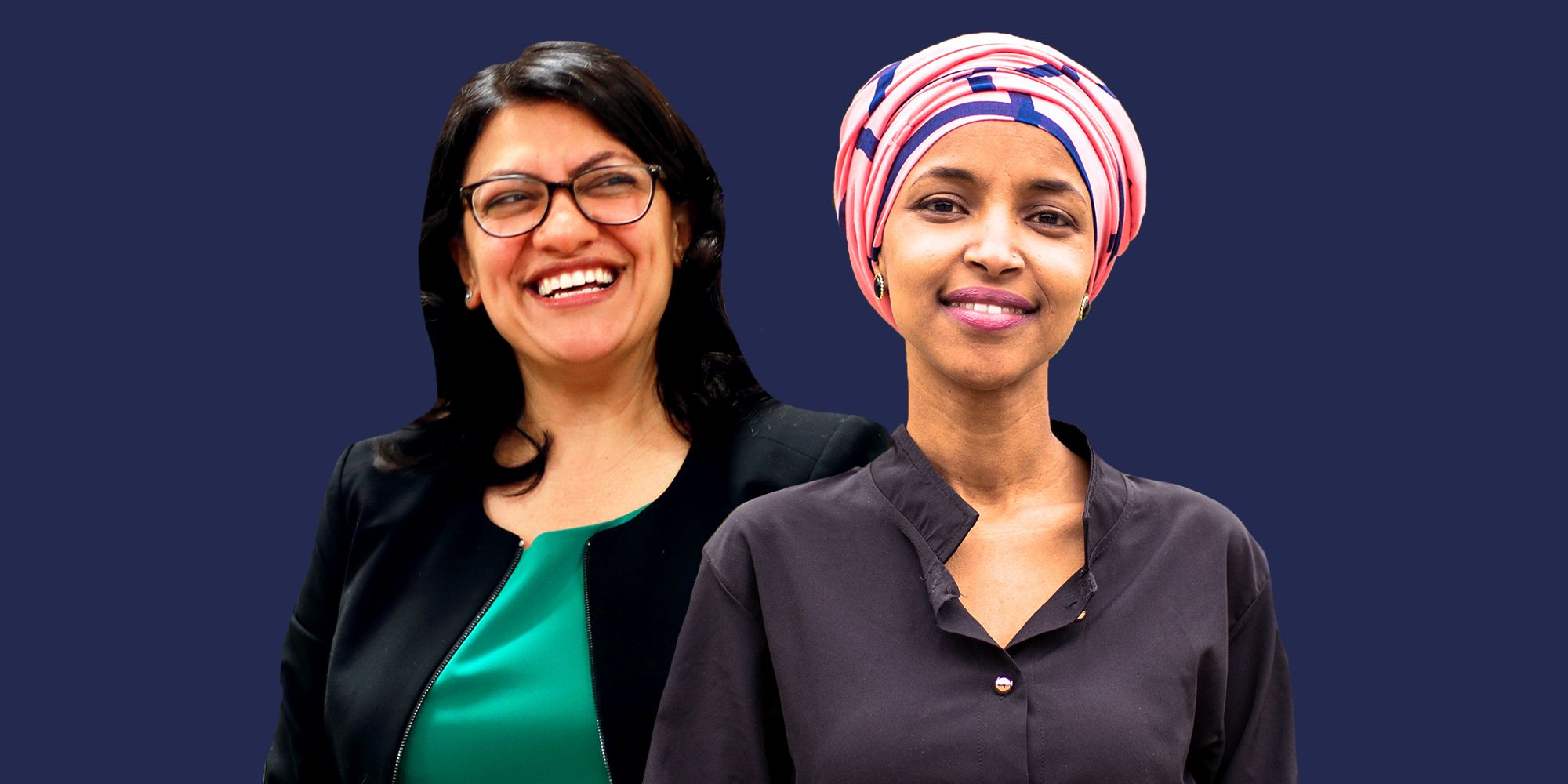 Image result for Ilhan Omar and Rashida Tlaib