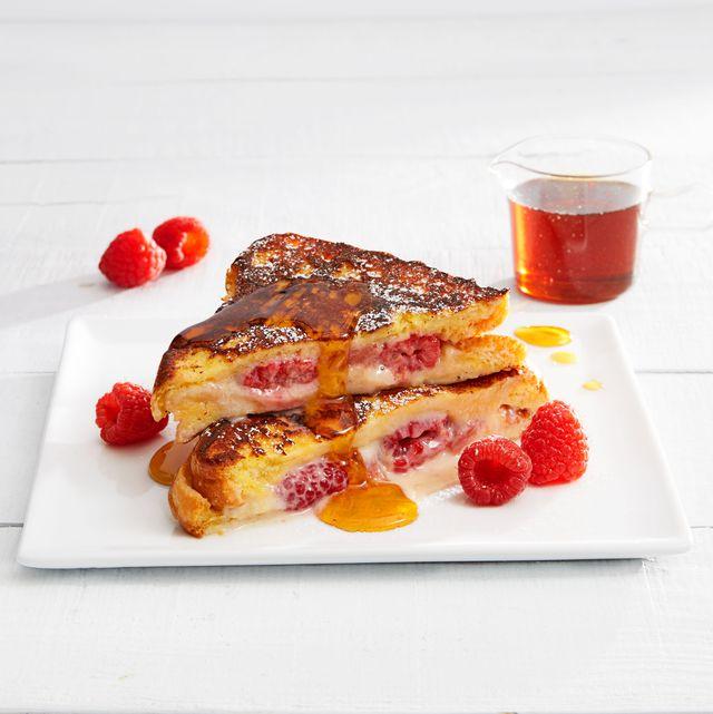 "raspberry ""cheesecake"" french toast"
