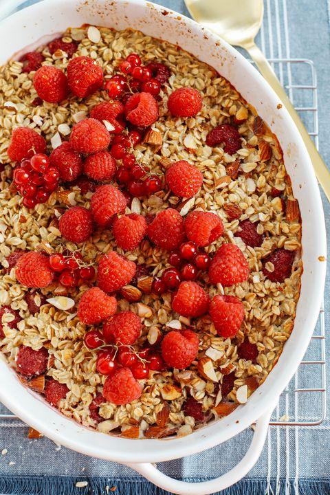 raspberry baked oatmeal recipe