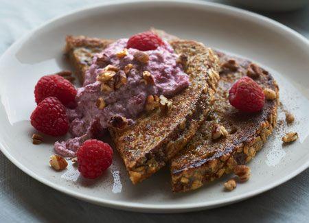 Raspberry-Ricotta French Toast