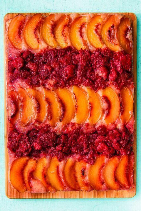 Food, Dish, Cuisine, Ingredient, Cobbler, Produce, Baked goods, Dessert, Plant, Peach,