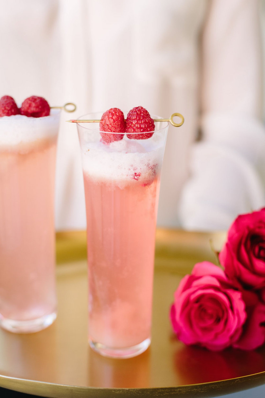 Raspberry Rose Cocktail