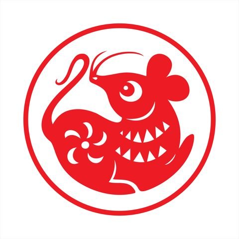 rat papercut, year of the rat, 2020, happy new year, chinese new year