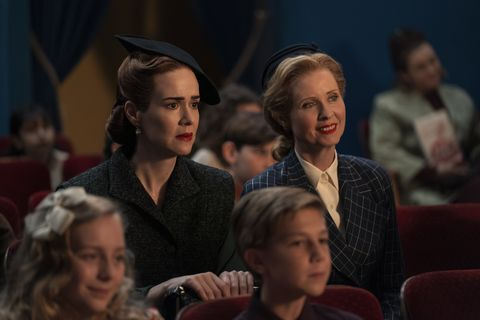 ratched l to r sarah paulson as mildred ratched and cynthia nixon as gwendolyn briggs in episode 106 of ratched cr saeed adyaninetflix © 2020