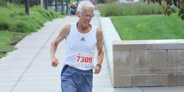 75-Year-Old Runs Six-Minute Mile | Lynn Rathjen Sets American Age-Group Mile Record