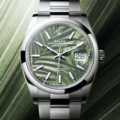 勞力士rolex 2021新錶試戴照!隕石面daytona、棕梠葉datejust、滿天星鑽錶等5大亮點一次看
