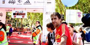 Raúl González bajó de las tres horas en el Maratón de Madrid