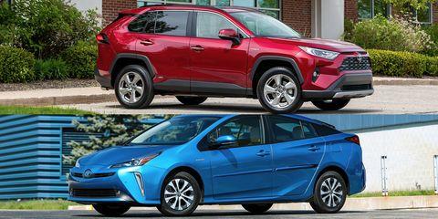 Toyota RAV4 hybrid vs Toyota Prius