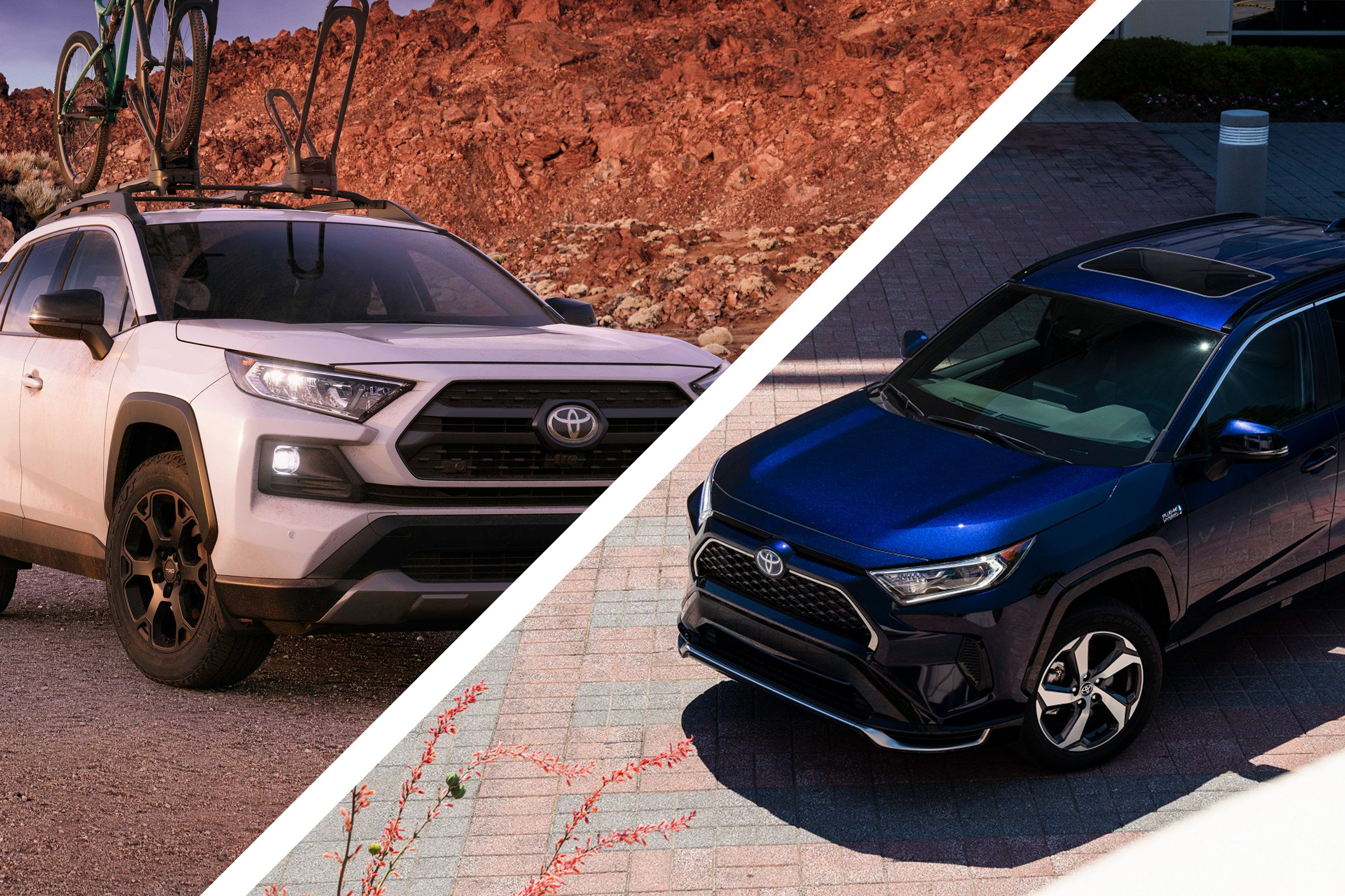 Which Toyota Rav4 Is The Better Buy The Rav4 Trd Off Road Or The Rav4 Prime