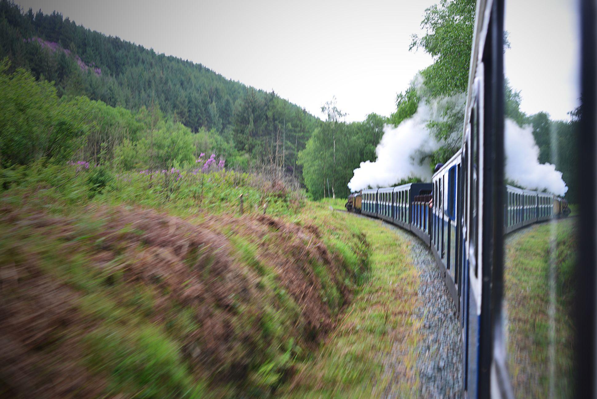 Steam train rides:Ravenglass Eskdale Railway