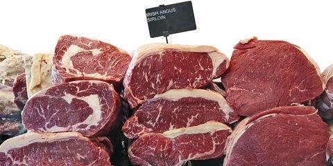 Food, Red meat, Kobe beef, Capicola, Beef, Cuisine, Meat, Dish, Salt-cured meat, Animal fat,