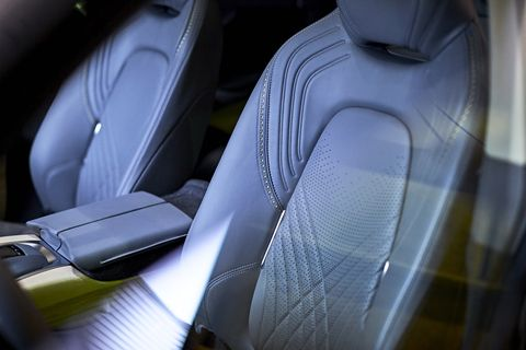 Aston Martin DBX luxury SUV interior