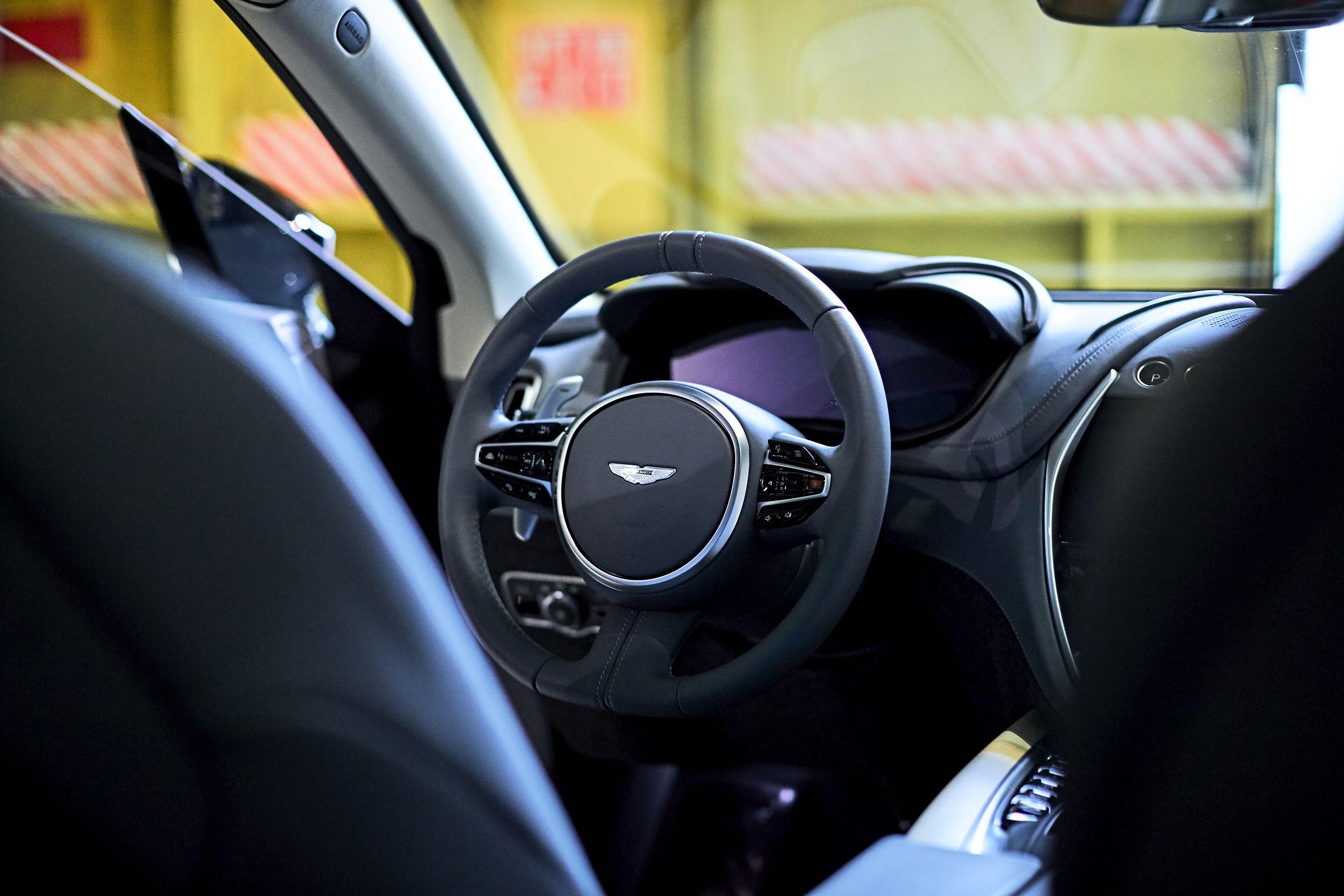 Gallery Inside The Aston Martin Dbx