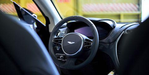Aston Martin DBX interior photos