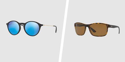 Eyewear, Sunglasses, Glasses, Personal protective equipment, Transparent material, Brown, Product, aviator sunglass, Vision care, Aqua,