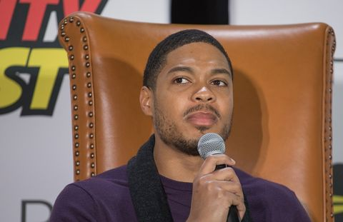 actor ray fisher at celebrity fan fest, november 2018