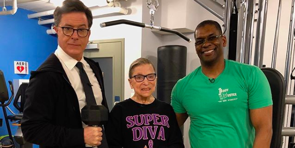 Ruth Bader Ginsburg's Trainer Spills The Secret Food That Keeps Her Feeling Good