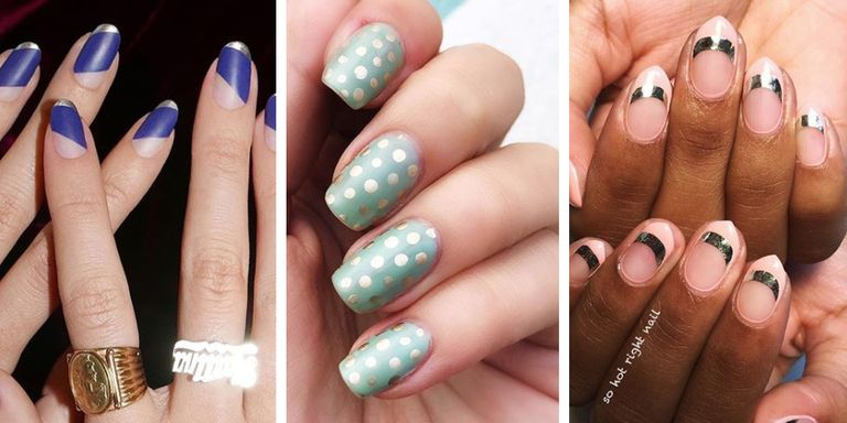 15 cute nail designs for 2018 2018 nail design ideas theres basically no limit to what you or a skilled nail technician can do with nail design and theres all manner of inspiration thanks to the bevy of prinsesfo Image collections
