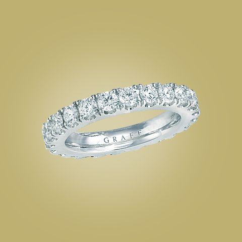 グラフのダイヤモンドリング「エタニティリング」
