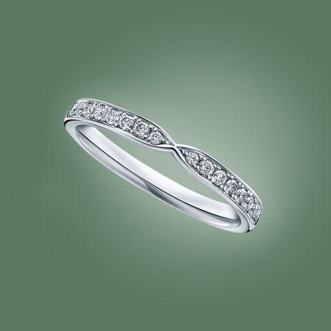 ラザール ダイヤモンドのマリッジリング「ウィズ」
