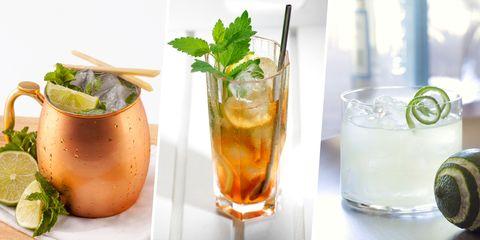 Drink, Rum swizzle, Cocktail garnish, Juice, Non-alcoholic beverage, Alcoholic beverage, Distilled beverage, Cocktail, Mint julep, Mojito,