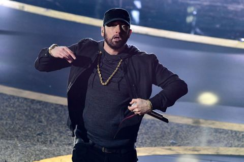 The Oscars audience were confused about Eminem's performance of 'Lose Yourself'