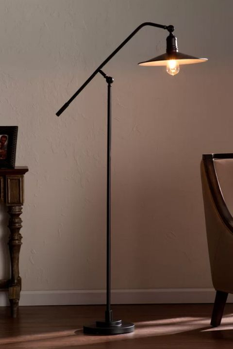 Light fixture, Lamp, Lighting, Floor, Light, Lampshade, Flooring, Wall, Lighting accessory, Table,