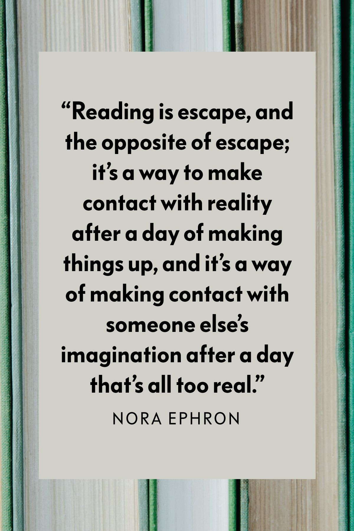 Reading Quote of the Month