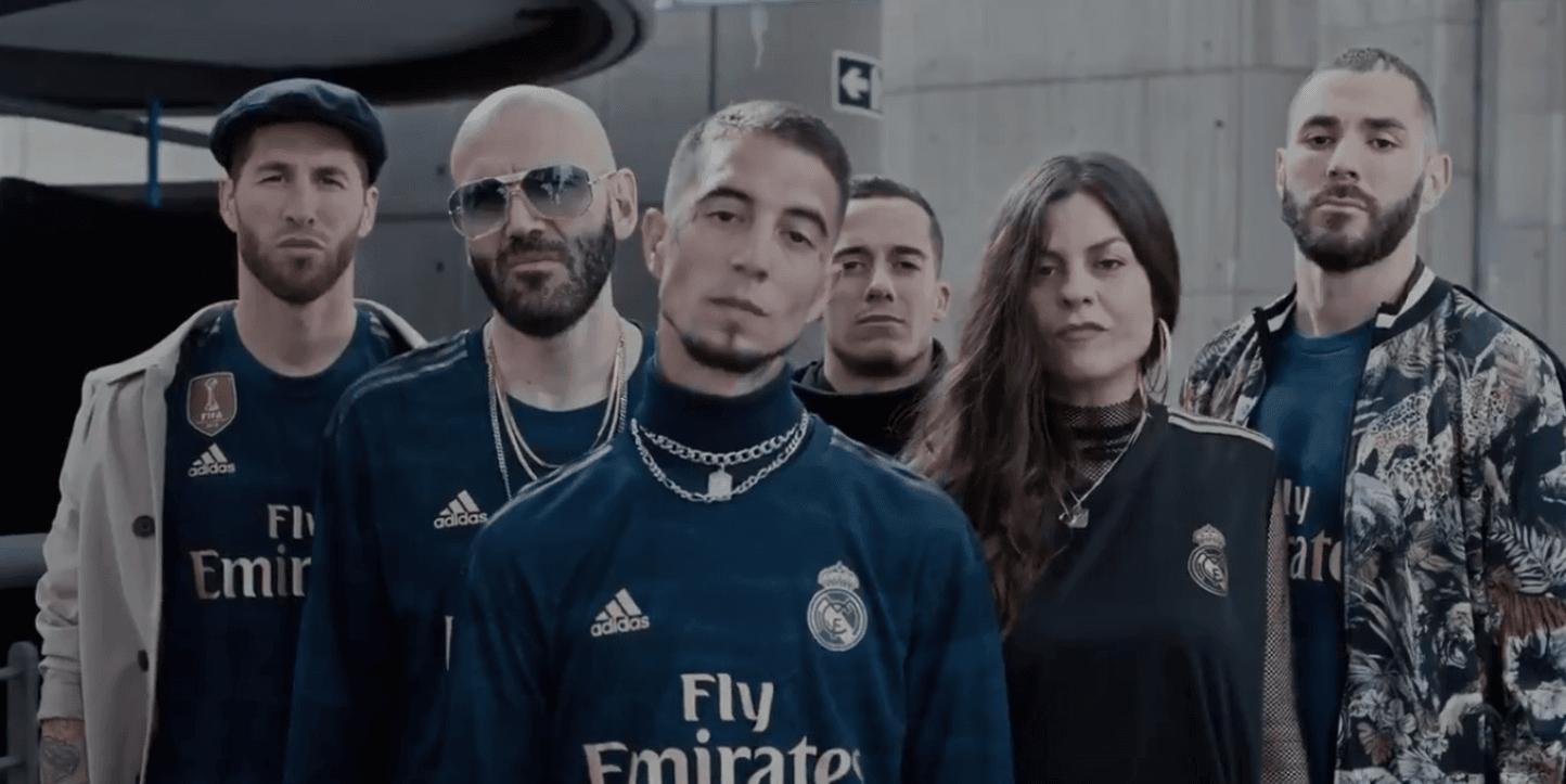 El Real Madrid Presenta Su Segunda Equipación A Ritmo De Trap