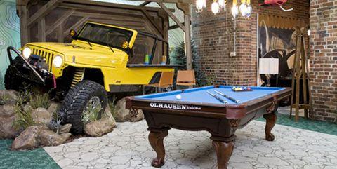 Vehicle, Car, Automotive exterior, Games, Recreation, Pool, Room, Table, Bumper, Leisure,