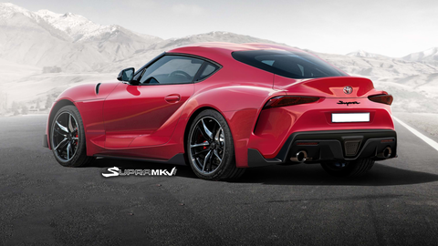 The 2019 Toyota Supra Will Probably Look A Lot Like This