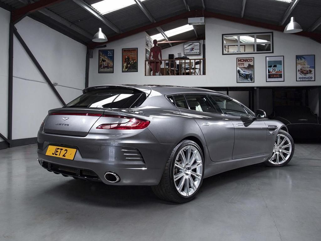 This Aston Martin Rapide Shooting Brake by Bertone Fulfills Our Long-Roof Dreams