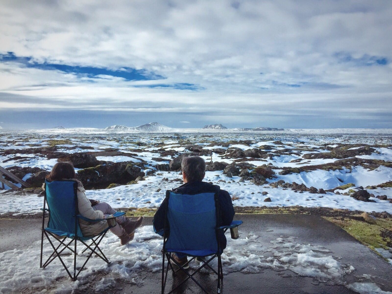 You Can Now Buy Heated Folding Chairs