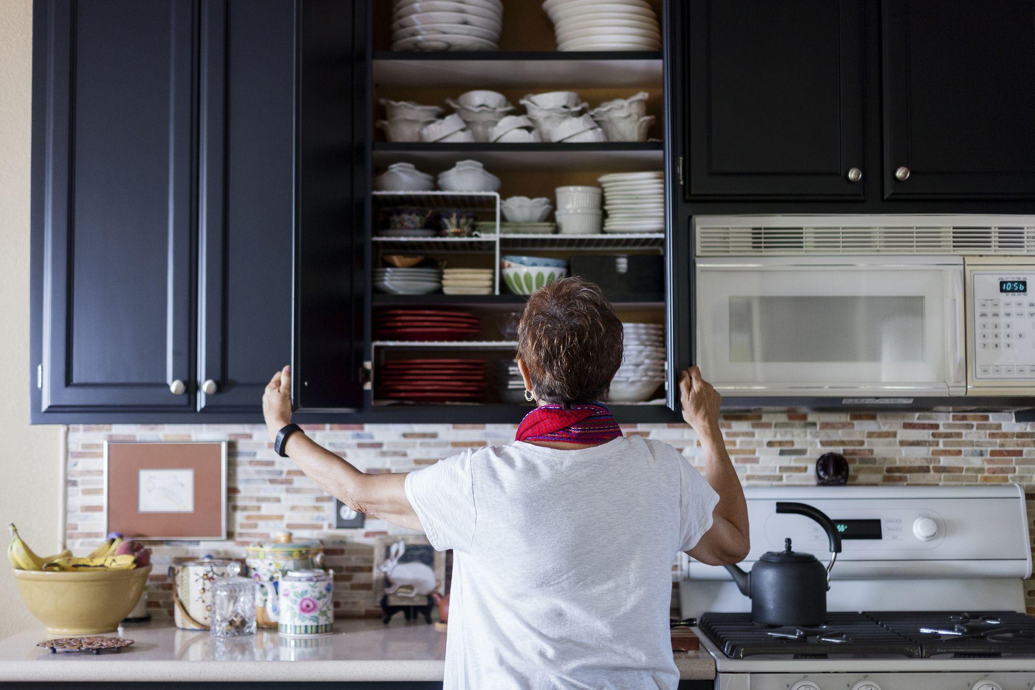 Kitchen Around A Major Appliance