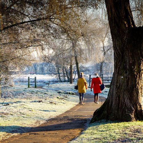 the best time of day to take a walk — walking benefits