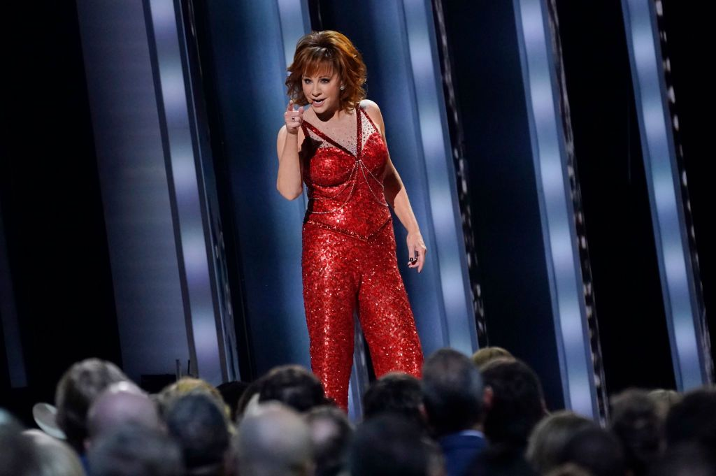 Reba McEntire Ripped Her Clothes Off at the CMAs and We Still Haven't Recovered