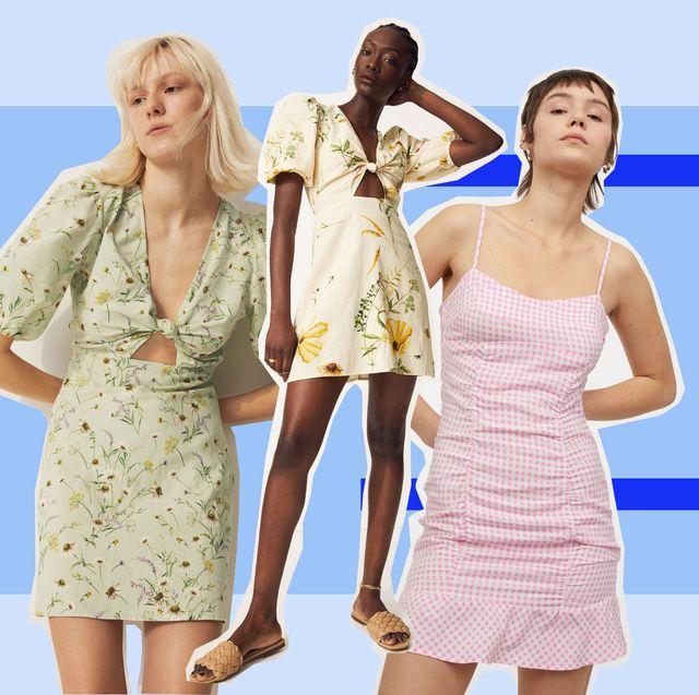 rebajas 5 vestidos de hym a mitad de precio