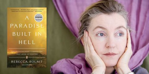rebecca solnit, a paradise built in hell
