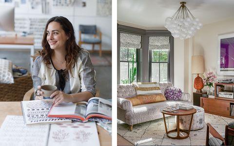 Purple, Interior design, Room, Home, Pink, Lavender, Furniture, Living room, Table, Design,