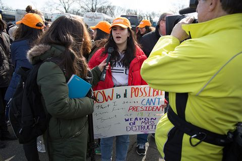 Rebecca fairweather march for our lives