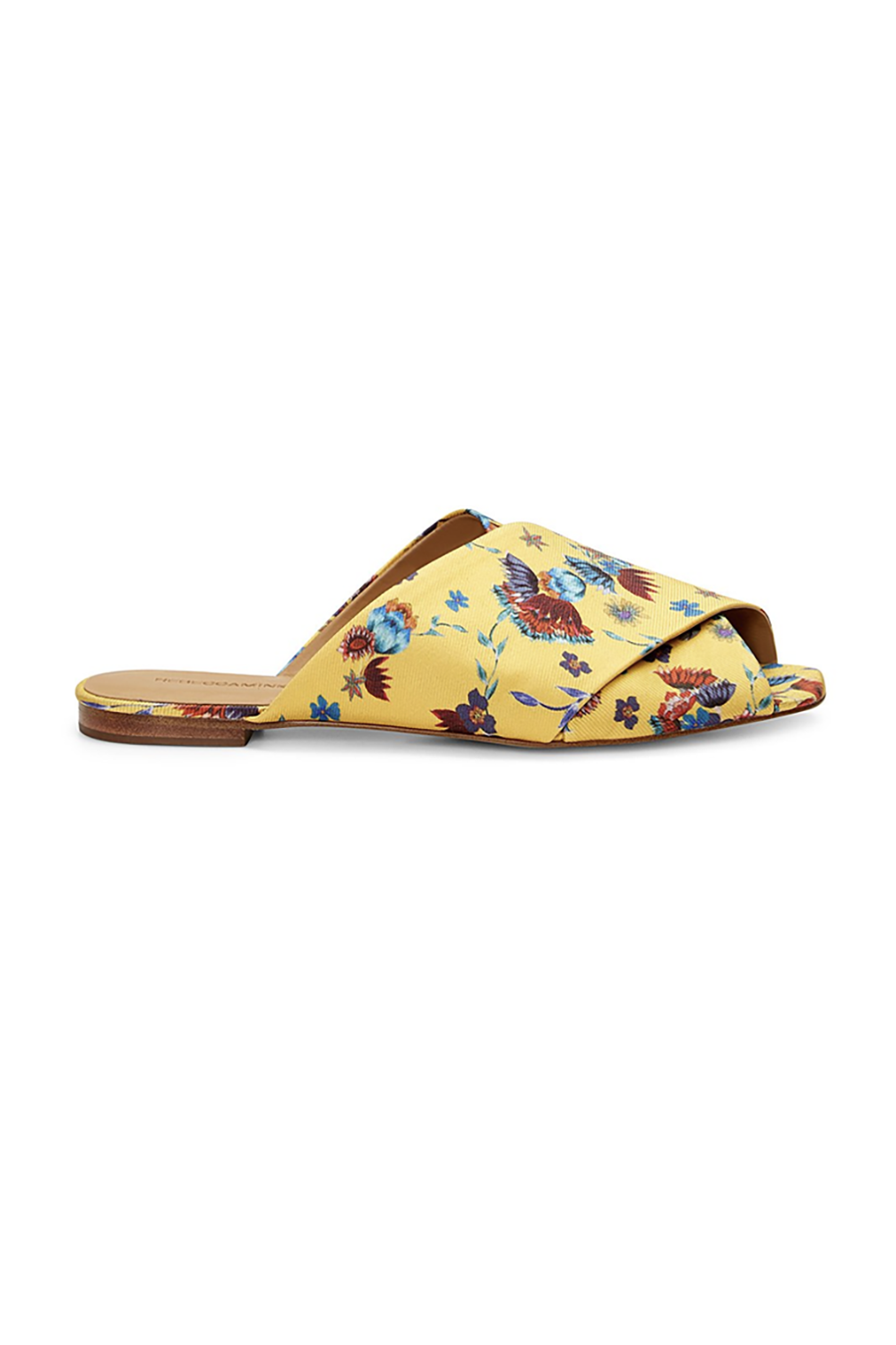 Sunshine in a Shoe Rebecca Minkoff, $50 SHOP IT Florals for spring may not be groundbreaking, but they are necessary. And, hey, if you're not a pattern girl, footwear is the perfect place to ease them into your wardrobe.