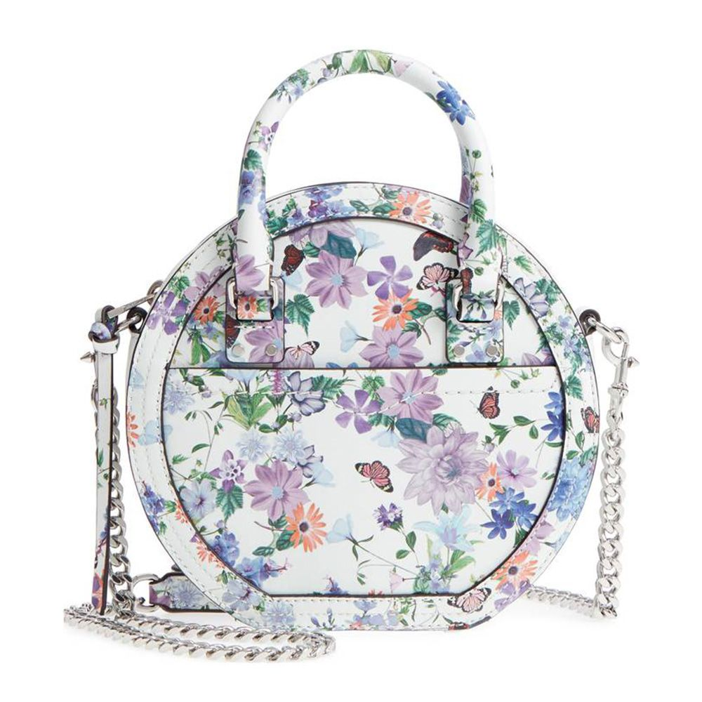 rebecca minkoff bree printed circle bag