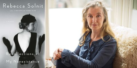 rebecca solnit, recollections of my nonexistance