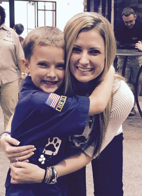 Rebekah DiMartino and her son, Noah