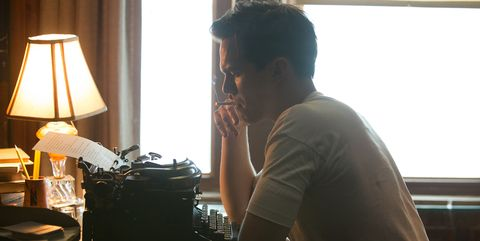 Nicholas Hoult as J.D. Salinger in Danny Strong's REBEL IN THE RYE