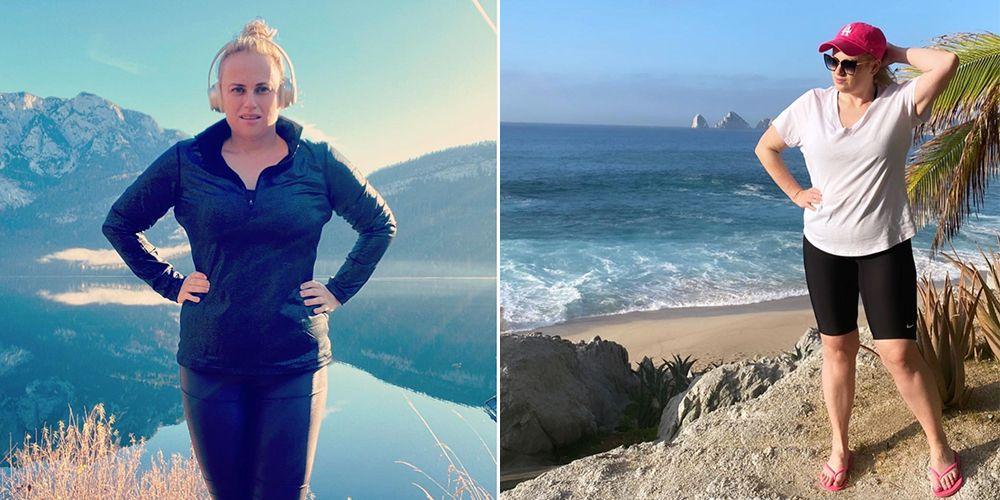 Ребел Уилсон опубликовала праздничный Instagram после достижения своей цели по снижению веса менее чем за год