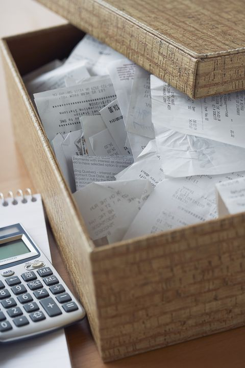 Receipts Organization