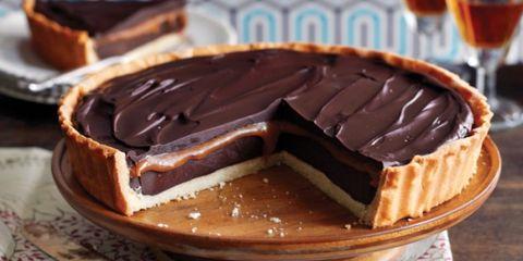 Recept: Chocoladetaart met zoute karamel