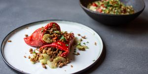 Recept gevulde paprika, NewFysic